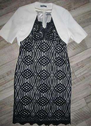 Michaela louisa люкс комплект платье+болеро р. 14