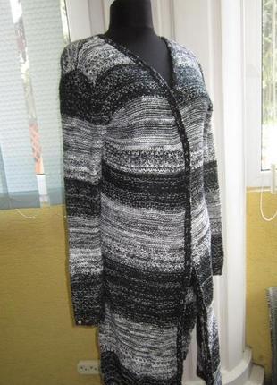 Фирменный женский свитер, кардиган * gina *