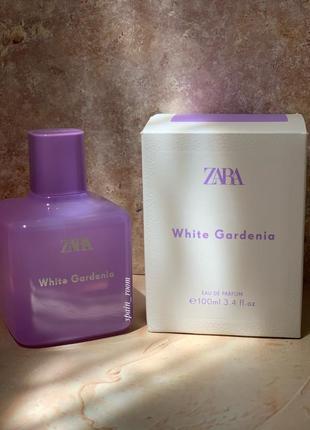 Духи zara white gardenia /жіночі парфуми /парфюм
