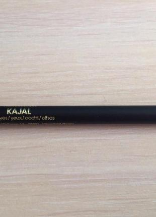 Карандаш для глаз, зелёный карандаш для глаз,  d'orleac kajal 07, темно зеленый карандаш.
