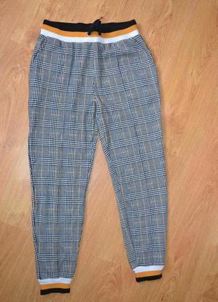 Трикотажные брюки штаны на манжетах