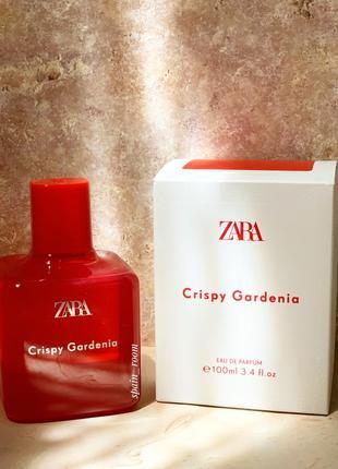 Духи zara crispy gardenia /жіночі парфуми /парфюм