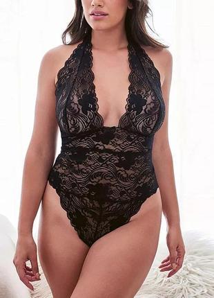 Эротичнское белье, сексуальное кружевное боди большой размер
