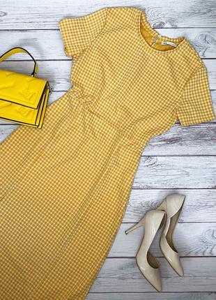 Жёлтое платье zara 💛
