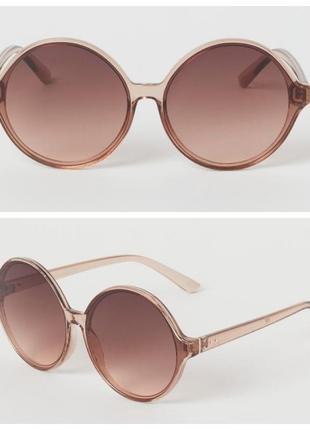 Круглые солнцезащитные очки h&m
