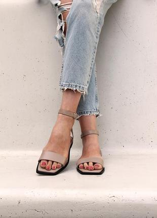 Распродажа!!!  кожаные женские босоножки. обувь от производителя
