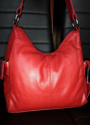 Кожаная сумка натуральная кожа gunuine leather