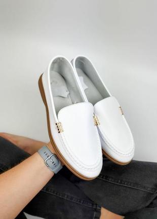 Новинка лоферы балетки туфли натуральная кожа