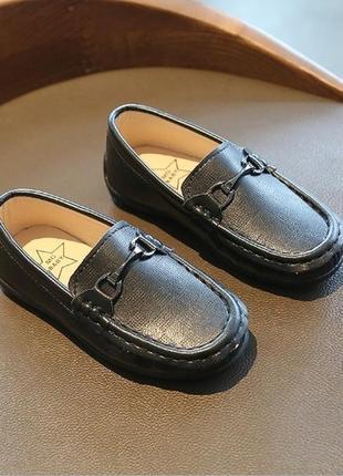 Мокасины туфли для мальчика