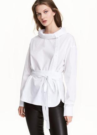 Блуза хлопок от h&m