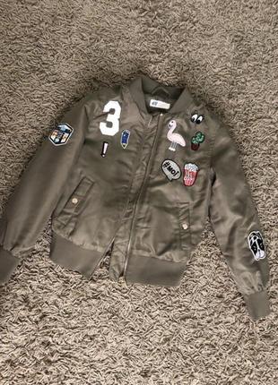 Стильна курточка h&m 8-10 років