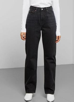 Мам джинсы mango mom джинси жіночі 36 черные