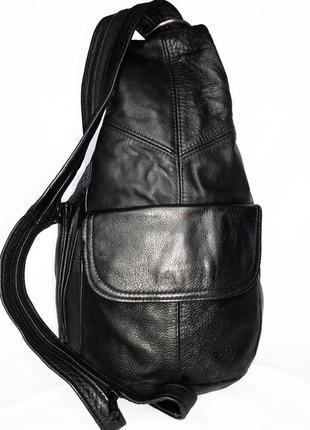 Кожаный рюкзак сумка-рюкзак натуральная кожа