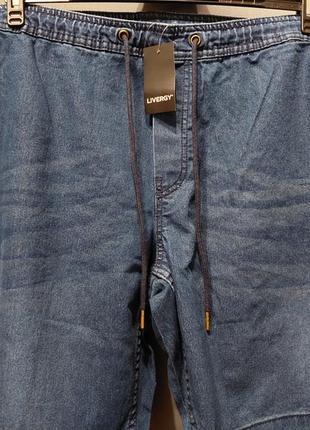 Шорты  джинсовые  батал большой размер 66 68