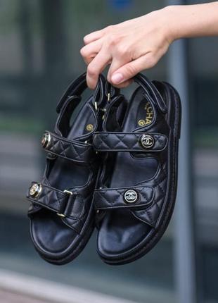 Женские сандали черные скидка 36 sale | жіночі сандалі чорні знижка