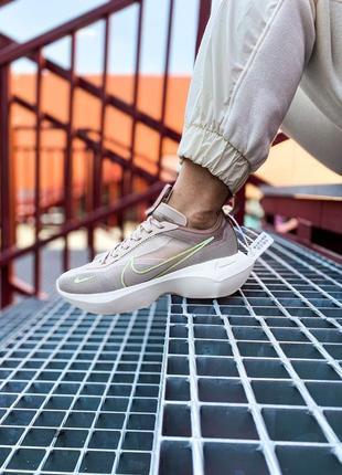 Женские бежевые кроссовки nike vista lite beige 38 размер 28см жіночі бежеві кросівки