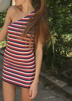 Платье zara knit