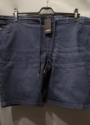 Шорты джинсовые  батал большой размер 62 64