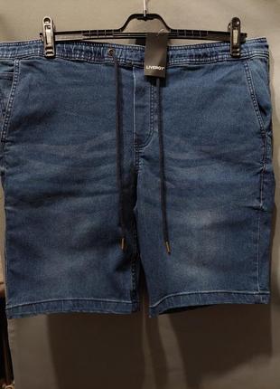 Шорты  джинсовые  большой размер  58 60