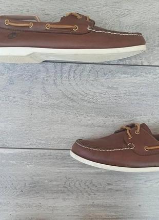 Timberland мужские кожаные топ сайдеры туфли оригинал 44 размер