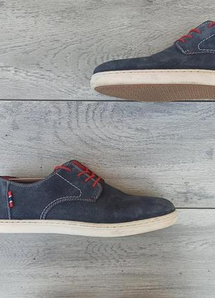 Rieker мужские замшевые туфли оригинал германия 44 размер