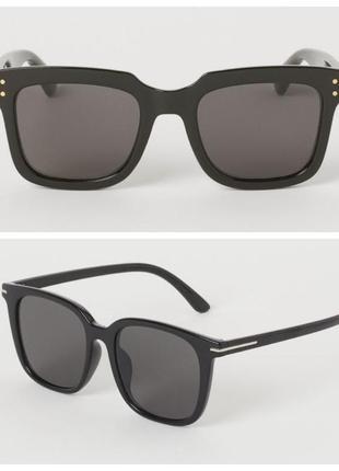 Большие квадратные солнцезащитные очки h&m