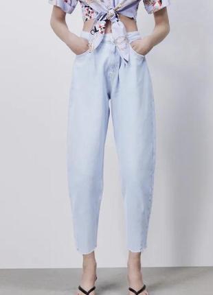 Стильные джинсы zara, p. 38/m