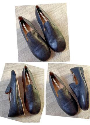 Туфли натуральная кожа ручная работа samuel windsor