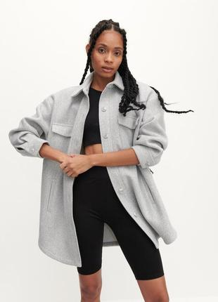 Куртка рубашка в стиле zara reserved