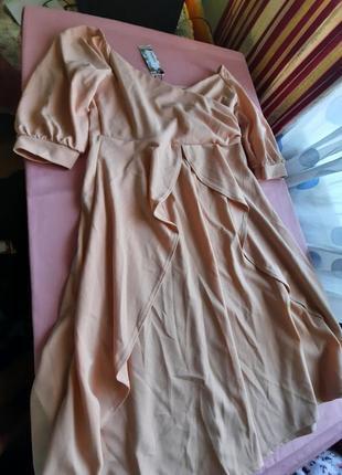 Вечернее платье клеш