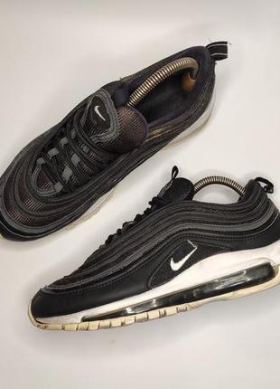 Nike air max черные кроссовки