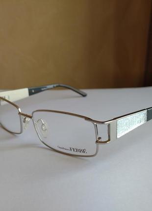 Распродажа фирменная оправа под линзы,очки оригинал gf.ferre gf38801