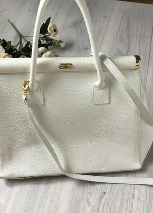 Кожаная сумка cenuine leather