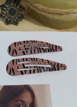 Комплект заколок клик-клак sinsay заколка для волос шпилька металлическая новая