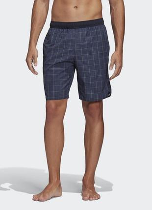 Пляжные мужские шорты adidas check clx fj3392
