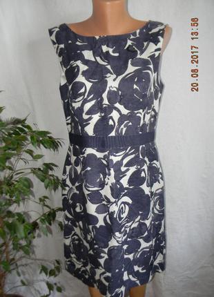 Платье лен laura ashley