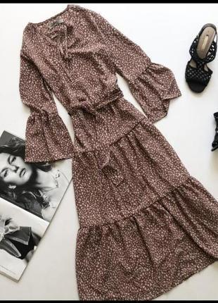 Миди платье