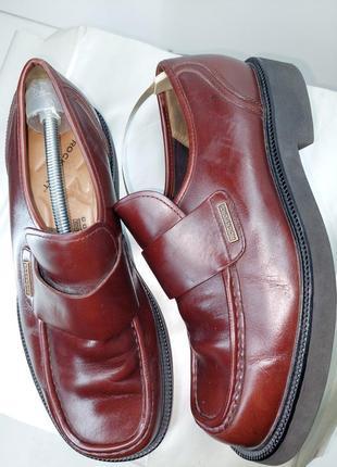 Шкіряні туфлі comfort dmx