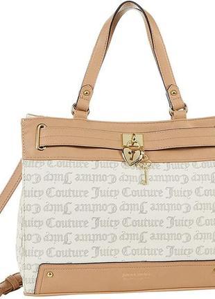 Женская кожаная сумка juicy couture