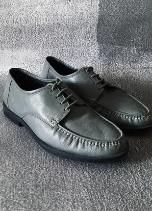 Мужские туфли кожаные trustyle чоловічі туфлі шкіряні