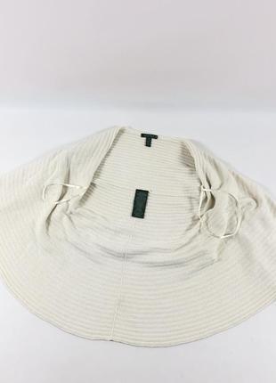 Женское кашемировое - шерстяное пончо ralph lauren usa кардиган накидка кофта свитер