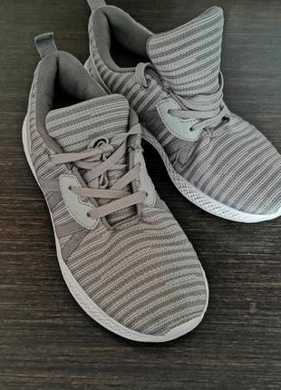 Мега лёгкие удобные кроссовки george стелька 24 см