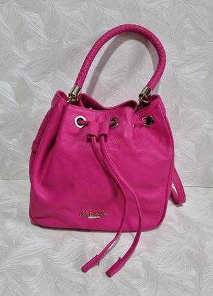 Кожаная сумка guy laroche, оригинал