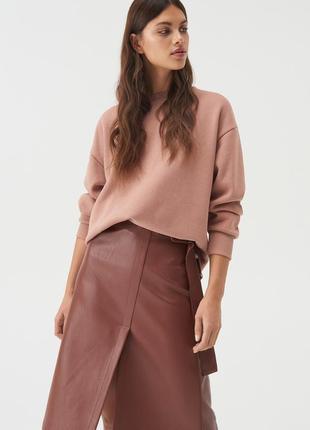 Sinsay актуальная юбка из искусственной кожи