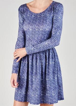 Soulcal&co замечательное трикотажное платье, р.s