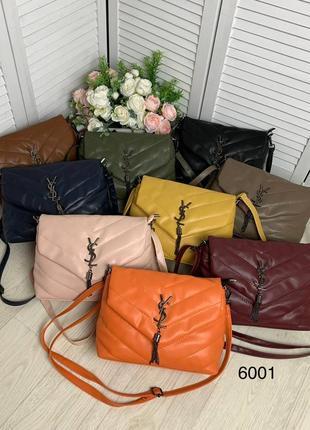 Стёганый клатч-сумка