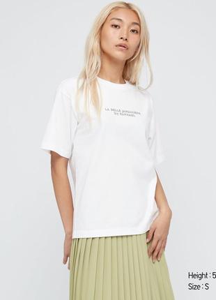 Женская футболка с графикой ut louvre museum