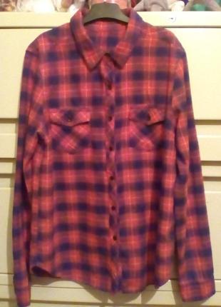 Фланелевая рубашка