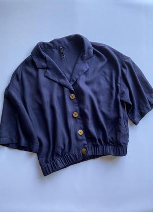 Укорочённый пиджак зара