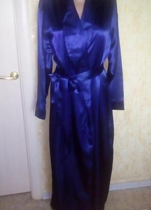 Роскошный атласный халат с поясом/халат/платье/кофта/ночнушка/слип/кигуруми/пижама/джинсы/шорты/юбка